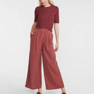 NWOT Lou & Grey Wide Leg Elastic Waist Pants